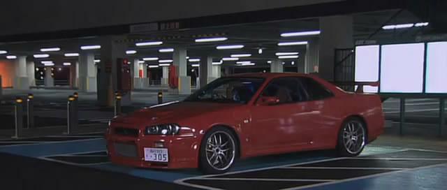 Nissan skyline in movie