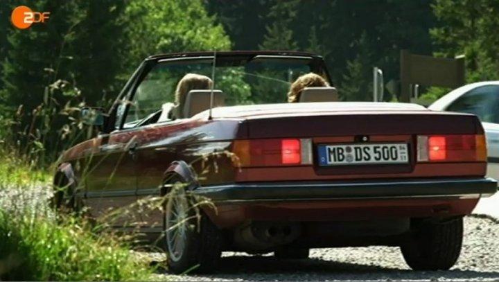 Imcdb Org 1989 Bmw 320i Cabrio E30 In Quot Ein Sommer In Den Bergen 2011 Quot