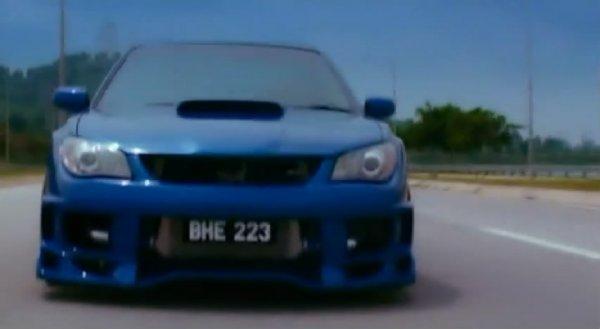 Imcdb Org Subaru Impreza Gd In Evolusi Kl Drift