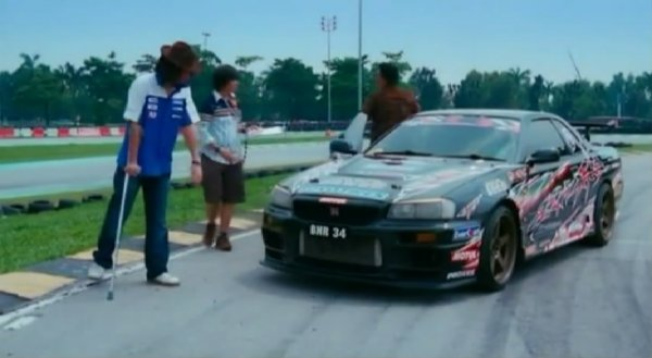 Imcdb Org Nissan Skyline In Evolusi Kl Drift