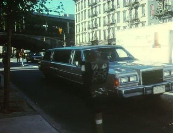 1989 Lincoln Town Car Stretched Limousine