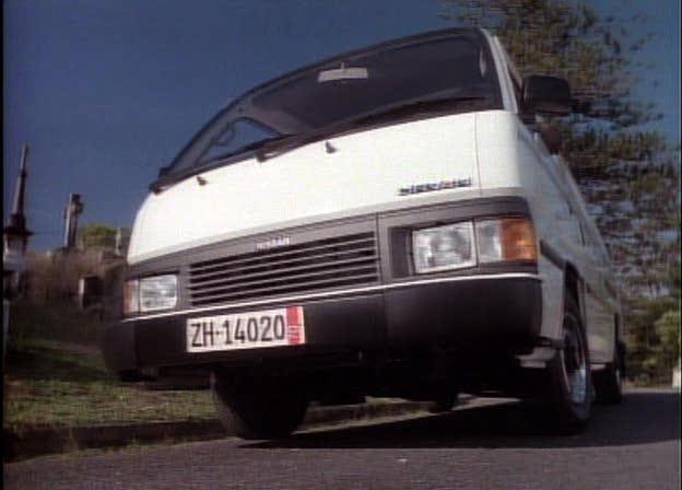 Nissan urvan 1990