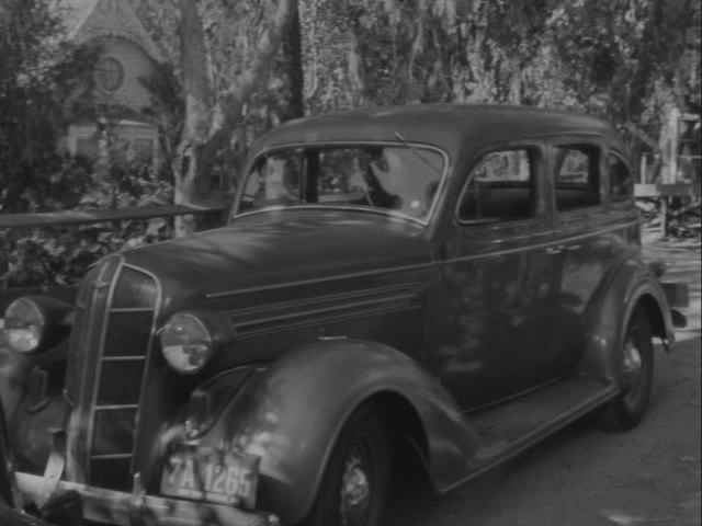 1936 Dodge Touring Sedan Four-Door [D-2]