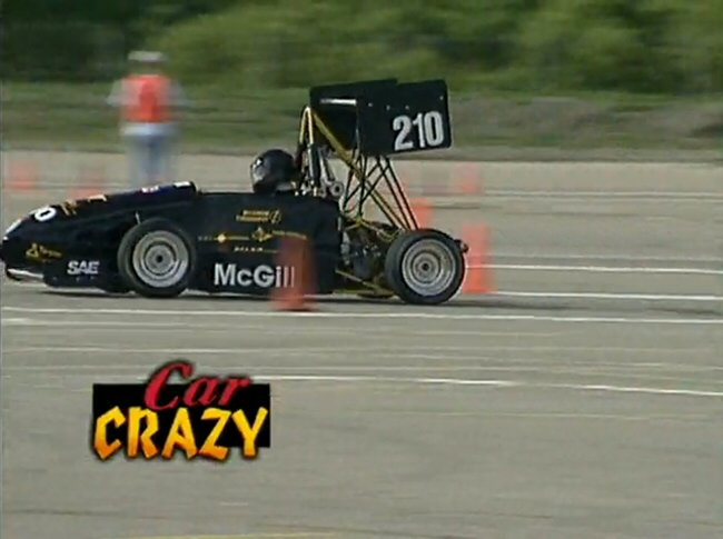 Custom Made Formula SAE McGill Unversity