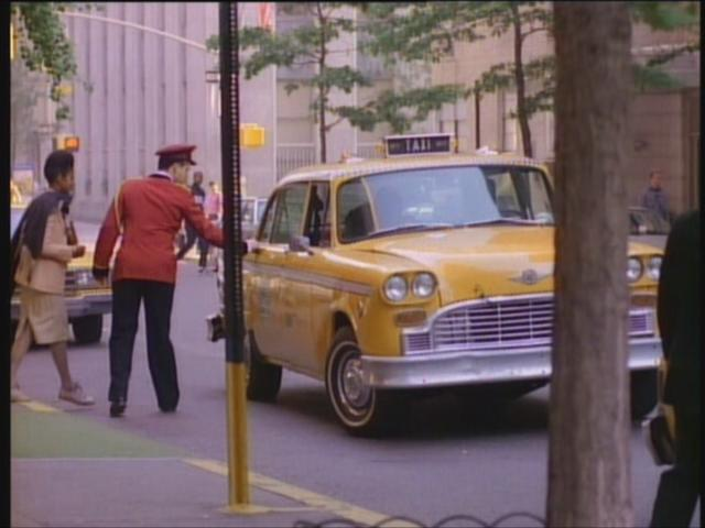 1977 Checker Taxicab [A11]