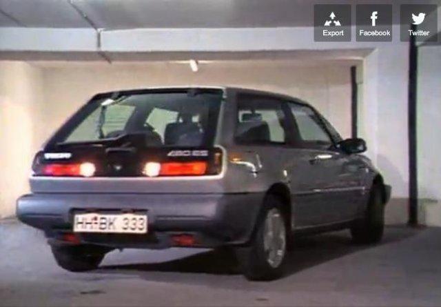 Imcdb 1987 Volvo 480 Es In Das Erbe Der Guldenburgs 1987 1990