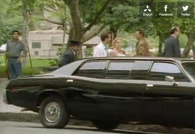 1975 Plymouth Fury Stretched Limousine