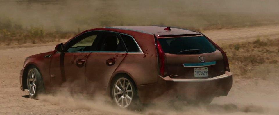 "Cadillac Cts V Used >> IMCDb.org: 2012 Cadillac CTS-V Sport Wagon in ""Hit and Run, 2012"""