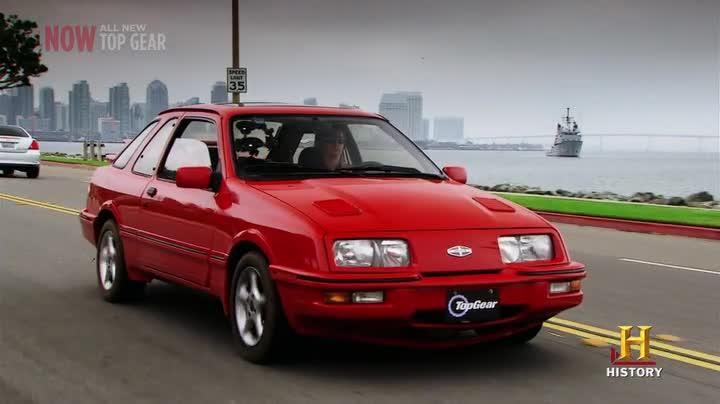 "IMCDb.org: 1986 Merkur XR4Ti in ""Top Gear USA, 2010-2016"""