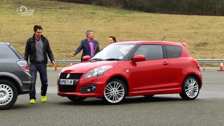 Fifth Gear Suzuki Swift Sport