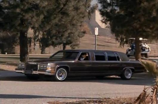 IMCDborg 1983 Cadillac Fleetwood Brougham Stretched Limousine in
