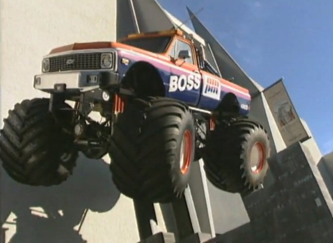 Custom Made Monster Truck bodied as 1971 Chevrolet
