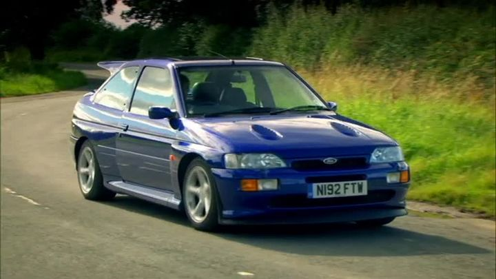 1996 ford escort rs cosworth mkv in top gear the worst car in the history of the. Black Bedroom Furniture Sets. Home Design Ideas