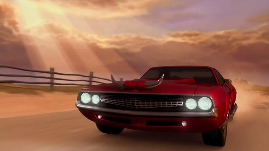 I on 1971 Dodge Challenger