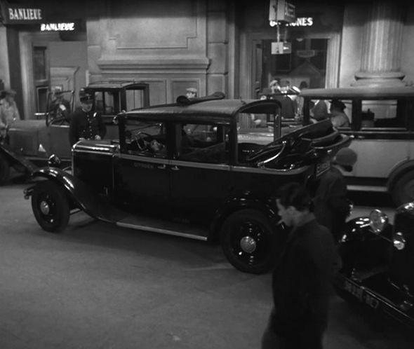 1931 citro n c4 f large taxi d capotable in au. Black Bedroom Furniture Sets. Home Design Ideas