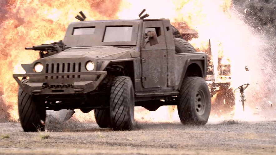 IMCDb.org: Jeep Wrangler Unlimited JK8 Pickup Conversion ...