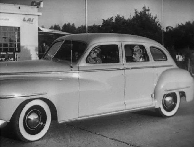 1946 dodge custom four door sedan d 24 in for 1948 dodge deluxe 4 door