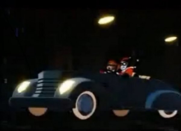 1936 cord 810 convertible coupe in batman the animated series 1992 1995. Black Bedroom Furniture Sets. Home Design Ideas