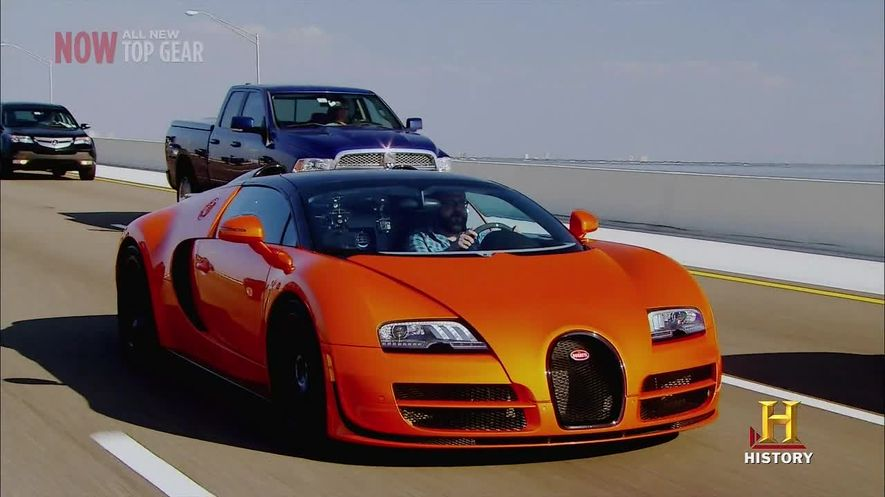 2012 bugatti veyron grand sport vitesse in top gear usa 2010 2016. Black Bedroom Furniture Sets. Home Design Ideas