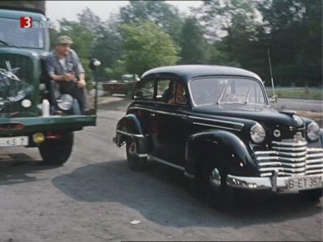 1951 opel olympia ol 51 in das blaue meer. Black Bedroom Furniture Sets. Home Design Ideas