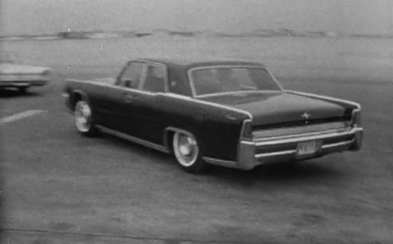 1964 lincoln continental in four days in november 1964. Black Bedroom Furniture Sets. Home Design Ideas