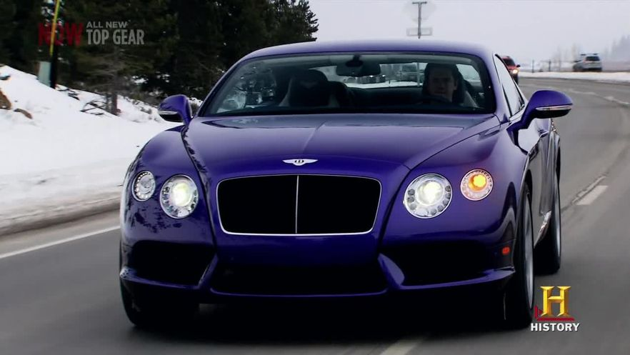 2013 Bentley Continental Gt In Top Gear Usa