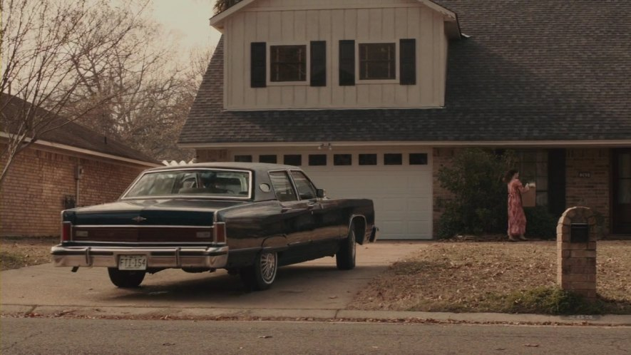 1976 lincoln continental in the iceman 2012. Black Bedroom Furniture Sets. Home Design Ideas
