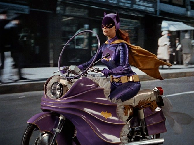 1967 Yamaha YDS5E 'Batgirl Cycle'