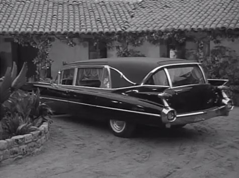 1959 Cadillac Funeral Coach Sovereign Royale Laudaulet by Superior