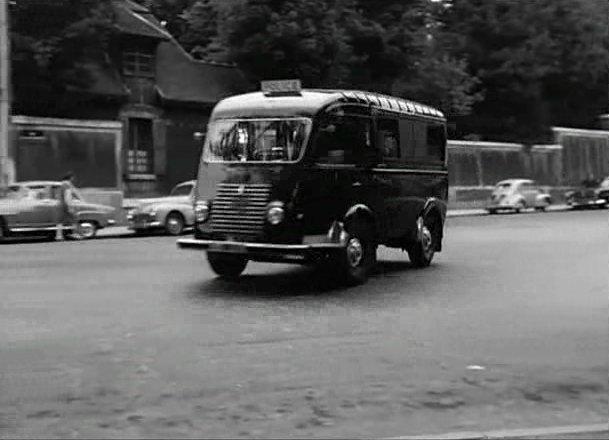 1955 renault 1000 kg car police r2065 in nathalie 1957. Black Bedroom Furniture Sets. Home Design Ideas