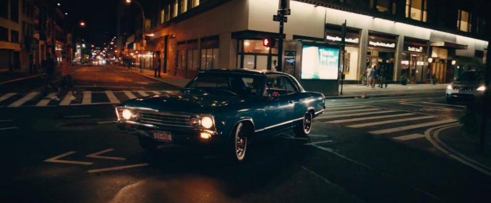 Imcdb Org 1967 Chevrolet Chevelle Malibu Sport Coupe 13617 In