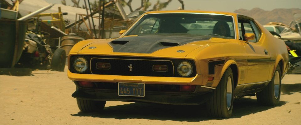Imcdb Org 1971 Ford Mustang Mach 1 In Quot Bounty Killer 2013 Quot