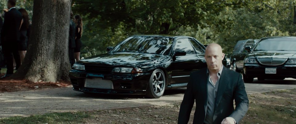 Imcdb Org 1989 Nissan Skyline R32 In Quot Furious 7 2015 Quot