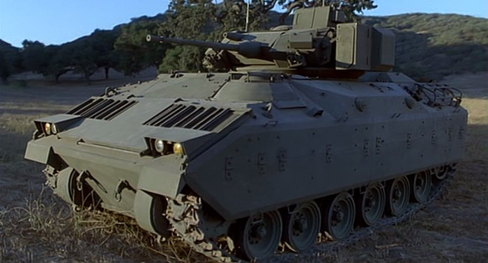 imcdborg made for movie m2 bradley in quotthe pentagon wars