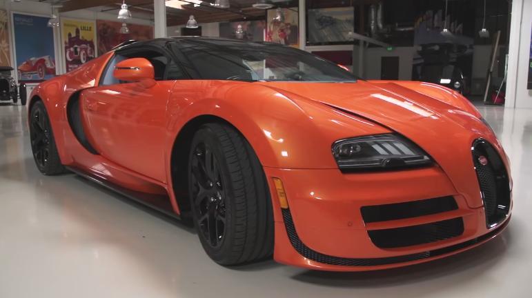 2012 bugatti veyron grand sport vitesse in jay leno 39 s garage 2006 2018. Black Bedroom Furniture Sets. Home Design Ideas
