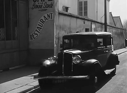 1933 renault taxi g7 type kz11 in victor 1951. Black Bedroom Furniture Sets. Home Design Ideas