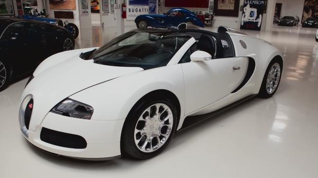 Jay Leno S Garage Bugatti Veyron Super Sport on