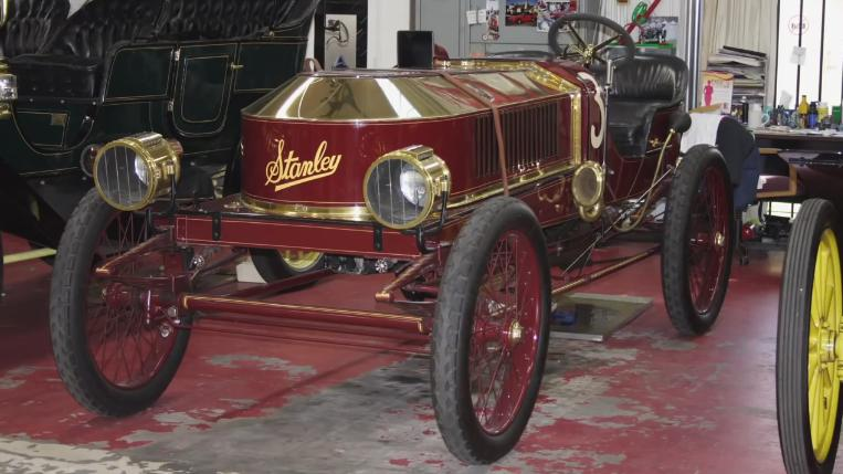 1906 stanley steamer vanderbilt cup racer in jay leno 39 s garage 2006 2018. Black Bedroom Furniture Sets. Home Design Ideas
