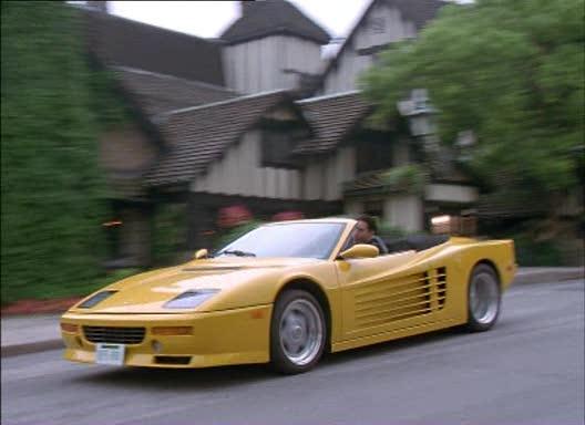 Imcdb Org Ferrari Testarossa Replica Rossa Spider Bodykit On Pontiac Fiero In Say Nothing 2001
