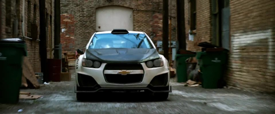 "Flying Car 2015 >> IMCDb.org: 2013 Chevrolet Sonic RS [T300] in ""Transformers ..."