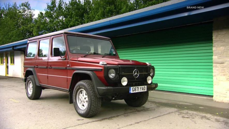 1989 mercedes benz 280 ge m4 w460 in fifth for Mercedes benz 280 ge