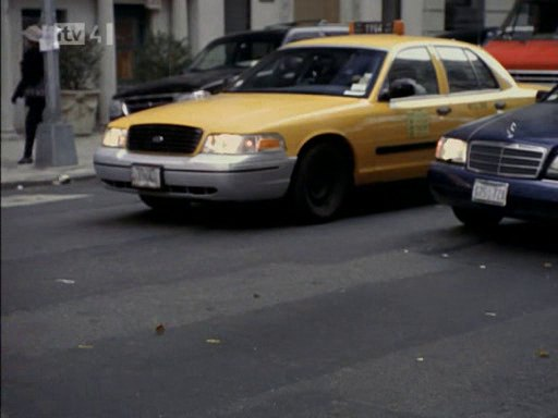 1999 Ford Crown Victoria Commercial Taxi Package [P72]