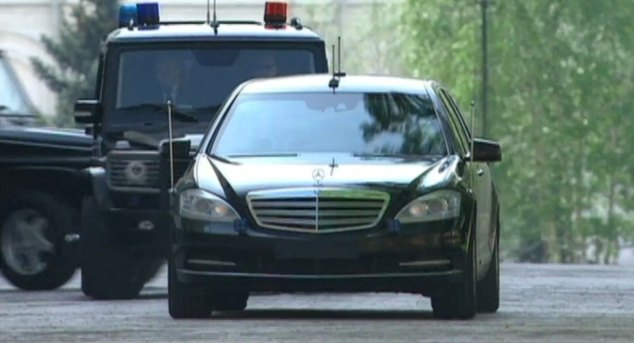 2010 Mercedes-Benz S 600 Pullman Guard [V221]