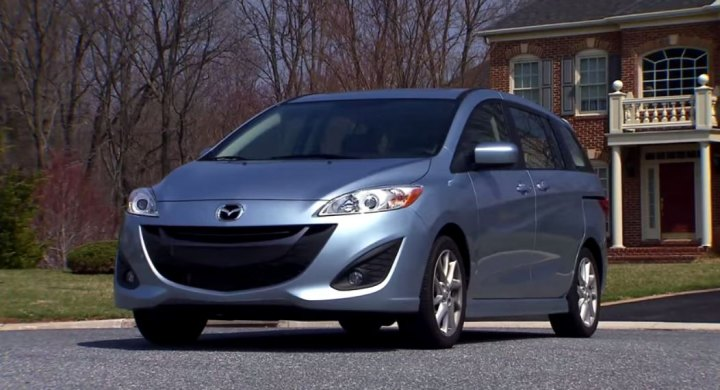 2012 mazda 5 cw in motorweek 1981 2017. Black Bedroom Furniture Sets. Home Design Ideas