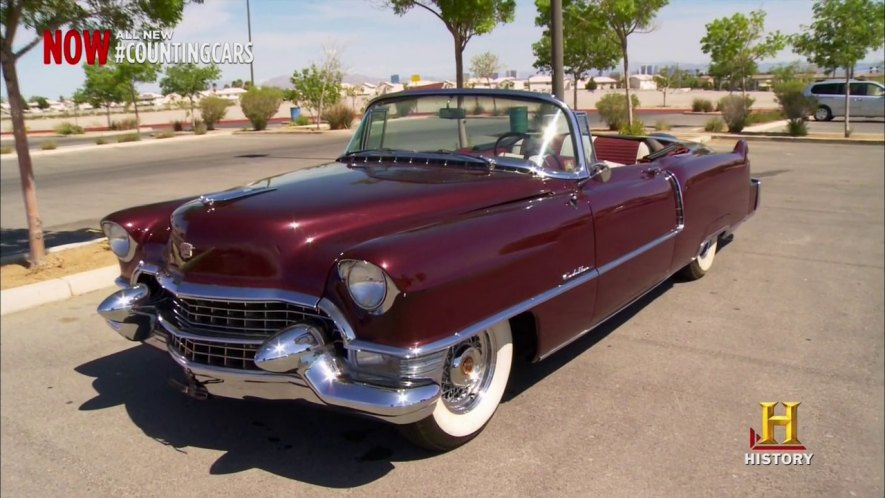 Imcdb Org 1955 Cadillac Series 62 Convertible In