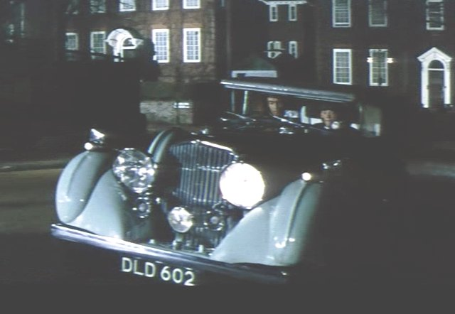 1936 Bentley 4¼ Litre DHC James Young [B58HK]