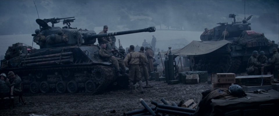 Imcdb Org Fisher M4 A2 Sherman In Quot Fury 2014 Quot