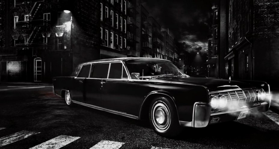 1964 lincoln continental executive limousine in sin city a dame to kill for 2014. Black Bedroom Furniture Sets. Home Design Ideas