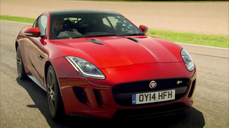 2014 jaguar f type r coup x152 in top gear the perfect road trip 2 2014. Black Bedroom Furniture Sets. Home Design Ideas