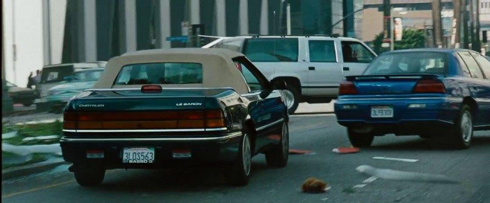 "IMCDb.org: 1986 Chrysler LeBaron Convertible in ""Istokwa ...  |1996 Lebaron Convertible"